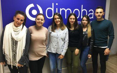Dimoba y el IES Los Ángeles sellan un acuerdo para la formación práctica de alumnos de ciclos formativos