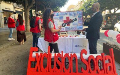 Dimoba apadrina la mesa del Exclusión Social de Cruz Roja